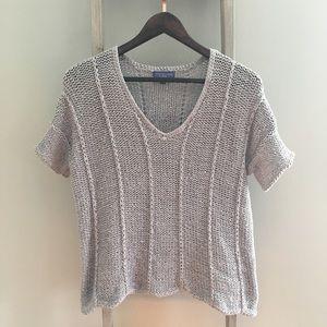 Vivienne Tam Short Sleeve Sweater